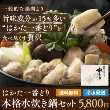 博多一番どり本格水炊き鍋セット